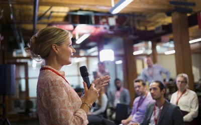 How to Generate Fresh Content Ideas: Attend a Conference