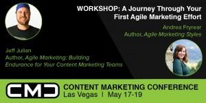 Andrea Fryrear and Jeff Julian Agile Marketing Workshop