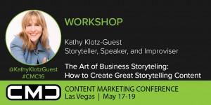 Kathy Klotz-Guest Business Storytelling Workshop