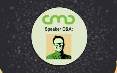 #CMC18 Speaker Q&A: Andrew Davis