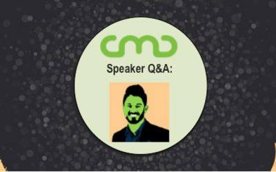 #CMC18 Speaker Q&A: Chris Dayley