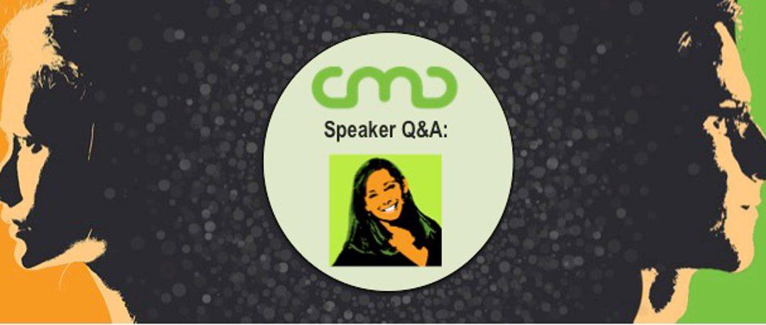 #CMC18 Speaker Q&A: Marilyn Cox