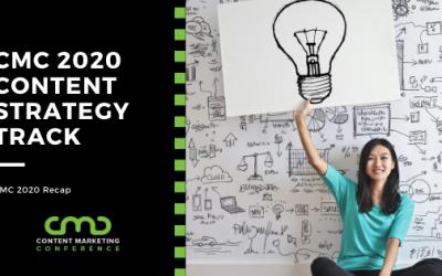 CMC 2020 Recap: Content Strategy