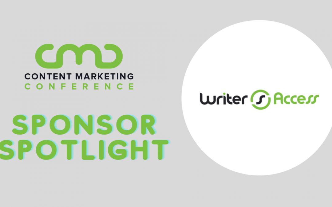 CMC 2021 Sponsor Spotlight: WriterAccess