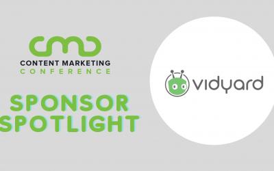 CMC 2021 Sponsor Spotlight: Vidyard